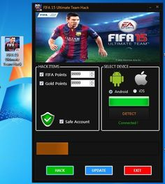 Fifa 15 Ultimate Team Hack Tool & Cheats http://www.fileworld.info/hack/fifa-15-ultimate-team-hack-tool-cheats-fifa-15-ultimate-team-free-fifa-points-free-fifa-coins/