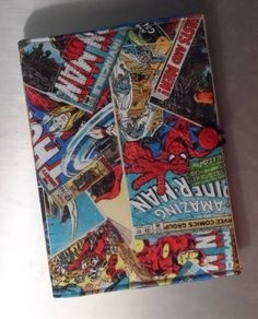 Marvel Notebook Cover by gozer Rebecca Rakes
