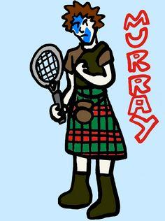 Andy Murray @JugamosTenis #tennis #Wimbledon