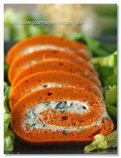 Escapade Gourmande: Rolada pomidorowa z twarożkiem ziołowym Escapade Gourmande, Meat Recipes, Healthy Recipes, Antipasto, What To Cook, Yummy Snacks, High Tea, Food To Make, Good Food