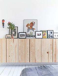 Ikea Ivar Cabinet, Ikea Storage Cabinets, Ikea Dining, Dining Room Furniture, Dining Room Inspiration, Interior Inspiration, Interior Ikea, Dining Room Paint Colors, Ikea Living Room