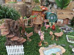 Vivid Arts Miniature World Fairy Pixie Forest Country Garden Beach Sand Castle | eBay