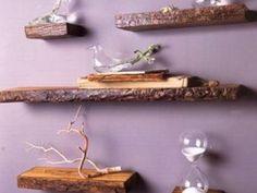 32 idées déco avec du bois de recup, du bois flotté etc pour creer des étagères, des lampes, des cadres photos et des tas d'autres objets de décoration.