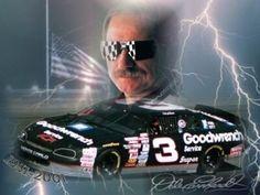 Saddest day in Nascar history...Feb 18 2001-Killed in crash at Daytona International Speedway!