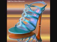 High Heels and Peep Toe Shoes