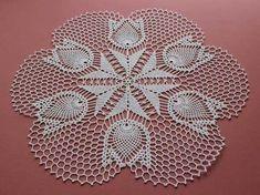 # It's beautiful # – crochet pattern Crochet Doily Patterns, Crochet Borders, Crochet Diagram, Thread Crochet, Filet Crochet, Crochet Motif, Crochet Crafts, Crochet Doilies, Crochet Flowers