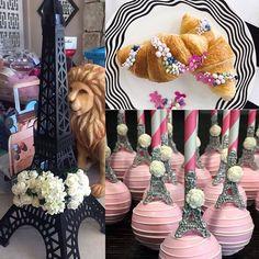 Turn your #engagement story into your #weddingtheme with these cute details! C'est chic! #eiffelltower (& lion!) by @platinumrentalprops cute #croissant details by @melissaandreinc and #cakepops by @chocolate_favors_pops #paris #engagementstory #weddinginspiration #colourinspiration #pink #flowerdecoration #weddingflowers #weddingprops #weddingdetails #weddingblog #weddingblogger #londonblog #londonblogger #devinebride