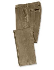 Stretch corduroy trousers for men deliver classic looks and perfect comfort.