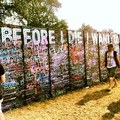 """Life's only too short if you wait too long to live it"" #bonnaroo"