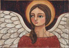 Heather Original #Paintings by Teresa #Kogut