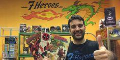 "Salva Espín, dibujante de Marvel Comics, impartió un WorkShop Gratuito sobre ""Diseño de Personajes. Ejemplos Profesionales en el Mundo Marvel"""