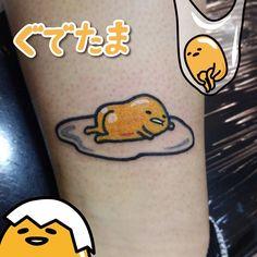 Post with 4906 views. Little silly egg tattoo by Luke Ashley at Sydenham Ink, London Creepy Tattoos, Cool Tattoos, Sister Tat, Kawaii Tattoo, Body Picture, R Tattoo, Line Work Tattoo, Symbolic Tattoos, Future Tattoos