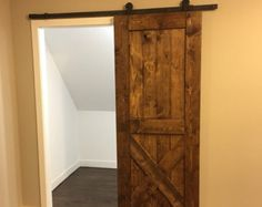 Rustic Barn Door Made to order by DownHomeLiving on Etsy