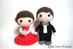 Looking for your next project? You're going to love Lil' Spanish Wedding Dolls by designer Rachel Hoe.