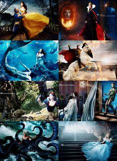 Annie Leibovitz Disney portraits