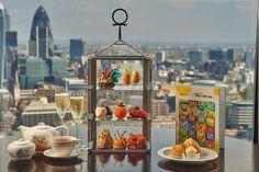 Roald Dahl 100 Champagne Afternoon Tea - Image courtesy of Aqua Shard