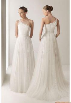 Natürlich Taille Designer Brautkleider 2014 aus Chiffon