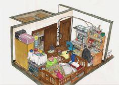 Ai cũng tìm thấy một ngôi nhà trong mơ của mình trong bộ tranh này - Ảnh 2.