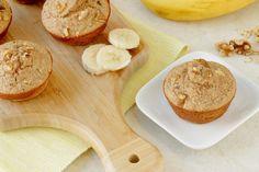 Hungry Girl's Healthy Banana Walnut Blender Muffins Recipe