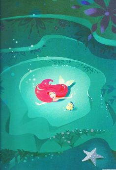"Image from ""Part of Their World"" picture book, by Brittney Lee:"