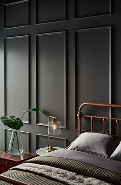 The 10 Grey Paint Colours Designers Always Use Grey, everyone's favourite warm neutral, is a go-to for cabinets, walls and more. Here's the top 10 grey paint colours that designers always use. Best Gray Paint, Grey Paint Colors, Interior Paint Colors, Dark Gray Paint, Interior Painting Ideas, Grey Interior Design, Dark Grey Colour, Interior Walls, Interior Paint Palettes