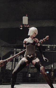 Sfw Nier Automata Nier Automata A2, Neir Automata, Anime Fantasy, Fantasy Girl, Fantasy Characters, Female Characters, Character Concept, Character Art, Tekken Girls
