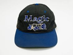 90s Orlando Magic Snapback Hat - Distressed Orlando Magic Hat - Vintage 90s  Snap Back Hat - NBA - Used Hat - Basketball - Magic Magic d58b2839cb1f