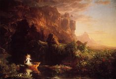 The Voyage of Life: Childhood  Thomas Cole (1842)  National Gallery of Art