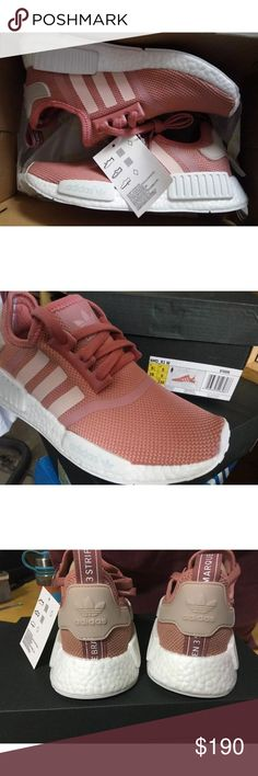 Original pink adidas Nmd Salomon Original pink Nmd adidas running shoes Size 8 fast shipping! Normal size ! Authentic pair Shoes Athletic Shoes