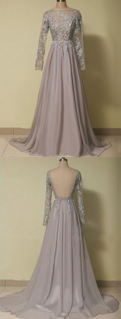 Long Sleeve Lace Prom Dress,Long Prom Dresses,Cheap Prom Dresses,Evening Dress Prom Gowns, Formal Women Dress,prom dresses