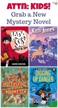 New Mystery Chapter Books (Spring Kids Reading, Teaching Reading, Reading Lists, 3rd Grade Books, Maths Puzzles, Mystery Novels, Books For Teens, Chapter Books, Read Aloud
