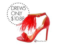 Repeat after us, I deserve new shoes! With our new arrivals, we have plenty of  new styles to choose from. Styles go fast, so get yours today!   #wholesalefashionshoes #fashionheels #red #feather #chic #ootd #barginfashion #fashionblogger #shoeaddiction #blogger #instaheels #beauty #sotd #instaglam#instagood #shoegasm #shoegamestrong #getthemnow #keytosuccess #summer #10.88