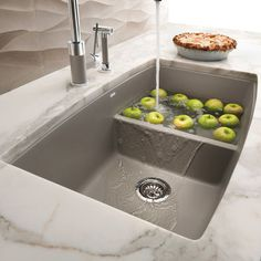 2ND CHOICE OF KITCHEN SINK-ONLY IF 1ST CHOICE OF SILGRANIT CURVED BACK WON'T DO Blanco Silgranit Sink