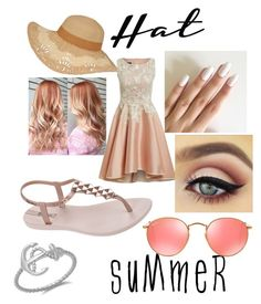 """""""A walk in the park"""" by hadassaht ❤ liked on Polyvore featuring IPANEMA, Ray-Ban and summerhat"""