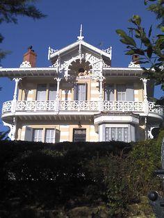 Arcachon aujourd'hui : villa Trocadéro