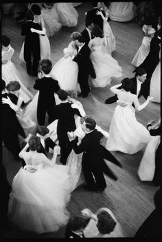 Queen Charlotte's Ball, London, 1959 by Henri Cartier-Bresson