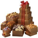 Broadway Basketeers Mother's Day Gift Tower of Sweets (Grocery)By Broadway Basketeers