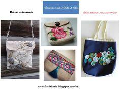 Confira no blog Universo da Moda & Cia., ideias de bolsas artesanais para se inspirar e ficar fashion.