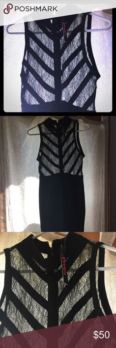 NWT Chic Couture dress. NWT black dress from Chic Couture Online. Never worn. Size Large. Great party dress. Smoke free environment. Dresses Maxi