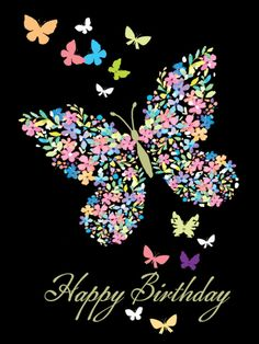 Birthday Quotes : Happy birthday pics for her.Lovely butterfly birthday images to wish my girlfrie… Free Happy Birthday, Happy Birthday Pictures, Happy Birthday Sister, Happy Birthday Messages, Happy Birthday Wishes For Her, Girlfriend Birthday, Boyfriend Girlfriend, Happy Greetings, Happy Birthday Greetings
