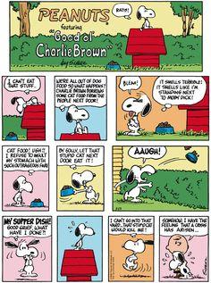 Classic Peanuts 8/23/15 - Originally appeared 8/25/68