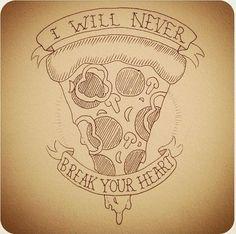 Resultado de imagem para slice of pizza design Pizza Tattoo, Pizza Kunst, Tattoo Sketch, Pizza Quotes, Cute Pizza, Pizza Art, Pizzeria, Future Tattoos, Screen Printing