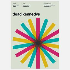 Dead Kennedys, 1985 17x23.75 now featured on Fab.