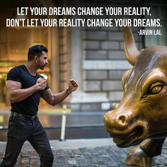 - Morning Motivation - Let your dreams change your reality, don't let your reality change your dreams. Morning Motivation, Study Motivation, Motivation Inspiration, Fitness Motivation, Workout Inspiration, Daily Inspiration, Exercise Motivation, Fitness Goals, Great Quotes