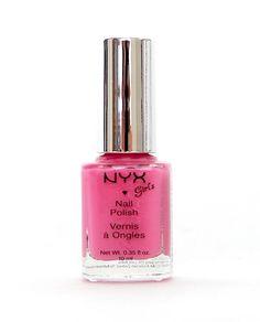Dusty Pink NYX Girl Nail Polish