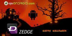 Zedge es una aplicación para dispositivos Android que permite personalizar los tonos, fondos e iconos con un tema específico, en este caso el de la Noche de Brujas, Halloween.