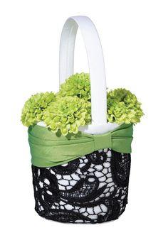 Green & Black Basket