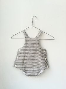 Image of linen sunsuit