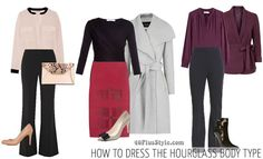 How to dress for the hourglass body shape | 40plusstyle.com
