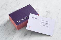 Firstleaf by Apartment One — The Brand Identity